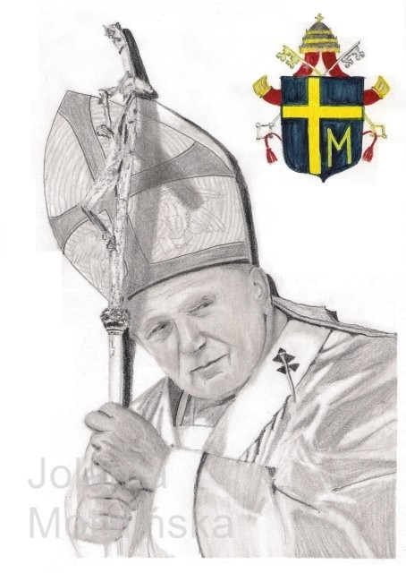 John Paul II por jolabrodnica